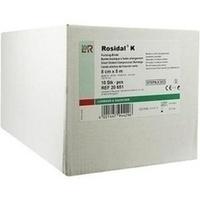 Rosidal K 8cmx5m einz.verp. steril, 10 ST, Lohmann & Rauscher GmbH & Co. KG