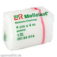 MOLLELAST 4CMx4m WEISS 14410, 1 ST, Lohmann & Rauscher GmbH & Co. KG