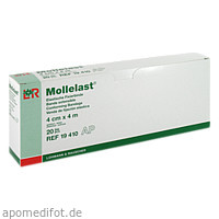 MOLLELAST 4CMx4m WEISS 19410, 20 ST, Lohmann & Rauscher GmbH & Co. KG