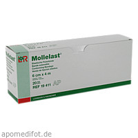 MOLLELAST 6CMx4m WEISS 19411, 20 ST, Lohmann & Rauscher GmbH & Co. KG
