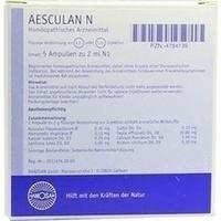 AESCULAN N, 5X2 ML, Hanosan GmbH