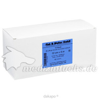 Kompressionsbinde 12cmx5m kurzer Zug hautfarben, 10 ST, Fink & Walter GmbH