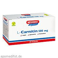 MEGAMAX L-Carnitin 500mg, 60 ST, Megamax B.V.