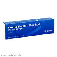 CANDIO HERMAL MUNDGEL, 20 G, Almirall Hermal GmbH