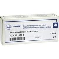 ARTERIENABBINDER 800X25MM, 1 ST, Param GmbH