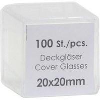 DECKGLAESER 20X20MM, 100 ST, Param GmbH