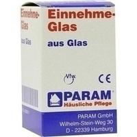 EINNEHMEGLAS GLAS GRADUIERT, 1 ST, Param GmbH