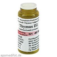 THYMUS D 2 8 UHR OLIGOSANCOMPLEX, 40 ST, Anthroposan Homöopharm Produktionsgesellschaft mbH
