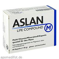 ASLAN LIFE COMPOUND M, 60 ST, Aslan GmbH