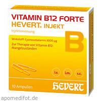 VITAMIN B12 FORTE HEVERT INJEKT, 10X2 ML, Hevert Arzneimittel GmbH & Co. KG