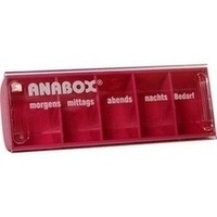 ANABOX-Tagesbox pink, 1 ST, Wepa Apothekenbedarf GmbH & Co. KG