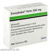 ENCEPHABOL FORTE 200, 100 ST, Merck Serono GmbH