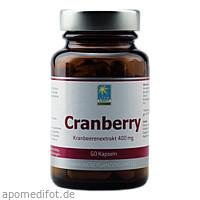 Cranberry 400 mg, 60 ST, Apozen Vertriebs GmbH