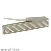 ZAHNSTOCHER SILBERBLATT FLACH, 1 ST, Param GmbH