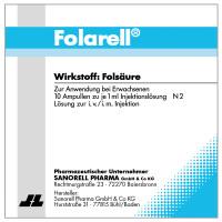 Folarell, 10X1 ML, Sanorell Pharma GmbH & Co. KG