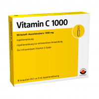 VITAMIN C 1000, 5X5 ML, Wörwag Pharma GmbH & Co. KG