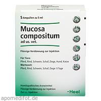 MUCOSA compositum ad us.vet.Ampullen, 5X5 ML, Biologische Heilmittel Heel GmbH