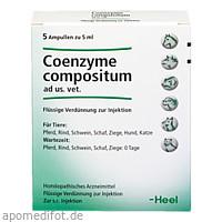 COENZYME COMPOSITUM ad us.vet.Ampullen, 5X5 ML, Biologische Heilmittel Heel GmbH