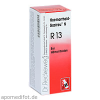 HAEMORRHOID GASTREU N R13, 50 ML, Dr.Reckeweg & Co. GmbH