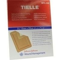 TIELLE HYDROPOLYMER VERBAND STERIL 15X20CM, 5 ST, Kci Medizinprodukte GmbH