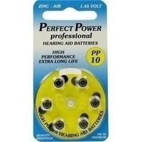 Batterie für Hörgeräte Power PP 10, 6 ST, Vielstedter Elektronik