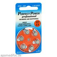 Batterie für Hörgeräte Power PP 13, 6 ST, Vielstedter Elektronik