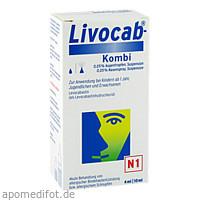 LIVOCAB Kombip.4 ml Augentr.+10 ml Nasenspray, 1 ST, Johnson & Johnson GmbH (OTC)