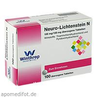 NEURO LICHTENSTEIN N, 100 ST, Zentiva Pharma GmbH