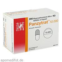 PANZYTRAT 10000, 200 ST, Allergan GmbH