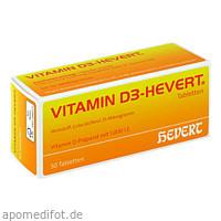 VITAMIN D 3 HEVERT, 50 ST, Hevert Arzneimittel GmbH & Co. KG