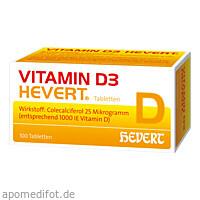 VITAMIN D 3 HEVERT, 100 ST, Hevert Arzneimittel GmbH & Co. KG