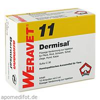DERMISAL 11 Ampullen vet., 10X2 ML, Biokanol Pharma GmbH