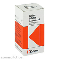 SYNERGON KOMPL BAR JOD 33, 100 ST, Kattwiga Arzneimittel GmbH