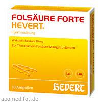 FOLSAEURE FORTE HEVERT, 10X2 ML, Hevert Arzneimittel GmbH & Co. KG