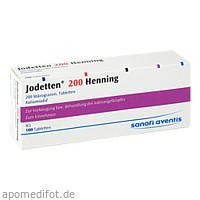 JODETTEN 200 HENNING, 100 ST, Sanofi-Aventis Deutschland GmbH