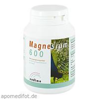 MAGNESIUM 600 KAPSELN, 100 ST, Endima Vertriebsgesellschaft mbH