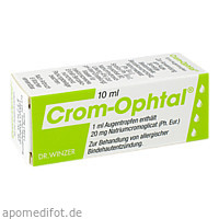 CROM OPHTAL, 10 ML, Dr. Winzer Pharma GmbH