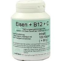 EISEN + B12 + C KAPSELN, 100 ST, Endima Vertriebsgesellschaft mbH