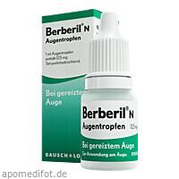 BERBERIL N AUGENTROPFEN, 10 ML, Dr. Gerhard Mann