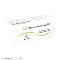 Gw17 Rhus aromatica cp JSO, 20 G, Iso-Arzneimittel GmbH & Co. KG