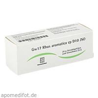 Gw17 Rhus aromatica cp D10 JSO, 20 G, Iso-Arzneimittel GmbH & Co. KG