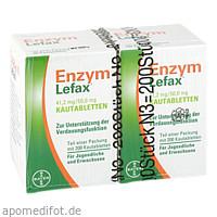 ENZYM LEFAX, 200 ST, Bayer Vital GmbH