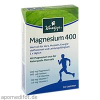 Kneipp Magnesium 400, 30 ST, Kneipp GmbH