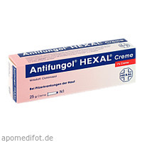 ANTIFUNGOL HEXAL Creme, 25 G, HEXAL AG