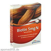 gesund leben Biotin 5 mg N, 60 ST, Gehe Pharma Handel GmbH