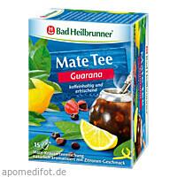 Bad Heilbrunner Guarana Mate Tee Kräuterpower, 15X1.8 G, Bad Heilbrunner Naturheilm. GmbH & Co. KG