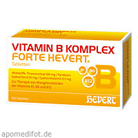 Vitamin B-Komplex forte Hevert, 100 ST, Hevert Arzneimittel GmbH & Co. KG