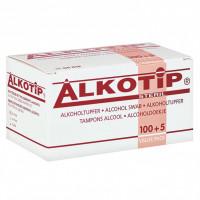 Alkotip Alkoholtupfer, 105 ST, Diaprax GmbH