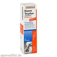 NasenTropfen-ratiopharm Erw konservierungsmittelfr, 10 ML, ratiopharm GmbH
