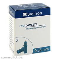 WELLION 28G Lancets, 50 ST, MED TRUST Holding GmbH
